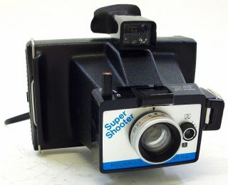 Polaroid Super Shooter Instant Pack Film Camera Good Working Condition