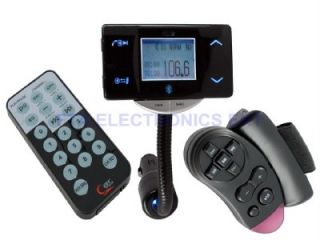 Car Kit Bluetooth Mobile Phone USB MMC SD  Player with FM