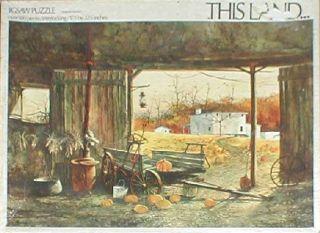 Frank M Hamilton Autumn Harvest Souvenir Plate Vintage