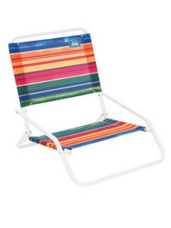 """Rio Brands"" Folding Beach Sand Chair"