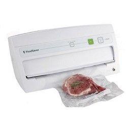 FoodSaver V3040 Vertical Vacuum Food Sealing System White