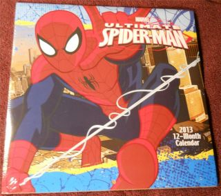 Marvel Ultimate Spiderman 12 Month Calendar 2013