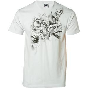 NWT Fox Racing Nebula Mens T Shirt Lt Grey Asst Sizes