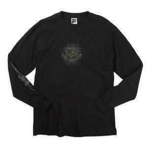 Fox Racing Colossal Long Sleeve T Shirt Black XLarge XL