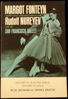 Margot Fonteyn and Rudolf Nureyev with the San Francisco Ballet at the