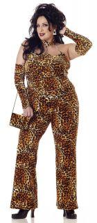 Plus Size Fine Foxy Mama Adult Halloween Costume
