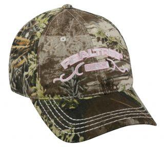 Realtree Max 1 Camo & Pink Deer/Turkey Hunting Hat/Cap FAST SHIP