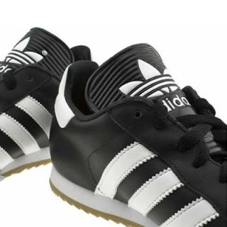 Adidas Samba Super Mens Black Football Trainers UK