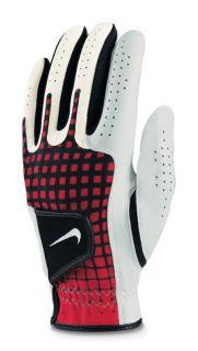 Nike Tech Xtreme III Golf Glove White Red Black