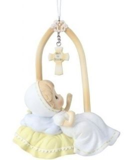 2012 PRECIOUS MOMENTS BABYS FIRST CHRISTMAS ORNAMENT 4 34975