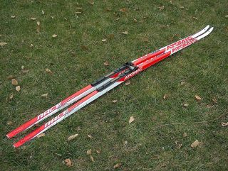 ATOMIC RACE SKATE CROSS COUNTRY SKIS SPEEDCELL HARD 184 CM SALOMON SNS
