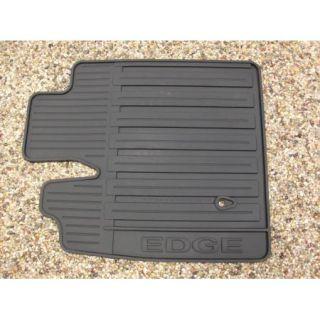 07 08 09 10 Edge Genuine Ford Black Rubber All Weather Floor Mat Set 3