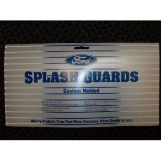 09 10 11 12 Flex Genuine Ford Parts Molded Splash Guards Mud Flaps Set