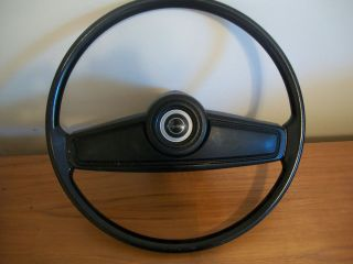 Ford Capri 1973 Steering Wheel Mercury Black G91170