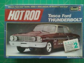 64 Tasca Ford Fairlane Thunderbolt Hot Rod T Bolt 1964 F s First Issue