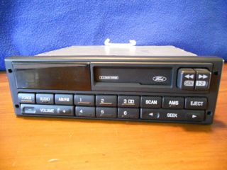 Ford Taurus Mercury Sable Cassette Player Am FM Radio 1993 1994 1995