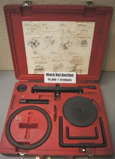 Ford Truck E4OD Transmission Factory Tool Kit Dealership Special Tools