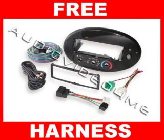 Stereo Dash Face Plate Kit Harness Ford Radio Removal Tool Keys