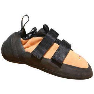 10 Five Ten Anasazi Rock Climbing Shoes Tan with Velcro