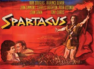 Spartacus 1960 Original French Movie Poster Stanley Kubrick Kirk