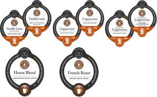 Barista Prima Italian French Roast Vanilla Variety Coffee Vue 5 Boxes