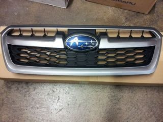 2011 subaru forester xt front grille assembly