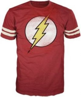 The Flash Distressed Soccer Big Bang Theory Sheldon T Shirt Tee s M L
