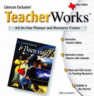 Glencoe Spanish Buen Viaje 3 Teacherworks PC CD Learn