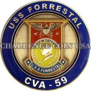 USS Forrestal CVA 59
