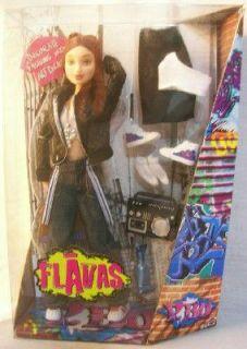 Flavas Doll P Bo Mattel Barbie Hip Hop Red Hair
