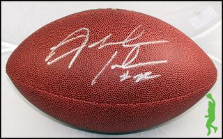 Fred Jackson Signed Auto Wilson NFL Football Ball Buffalo Bills COA