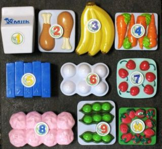 LEAP FROG GROCERY SHOPPING CART REPLACEMENT FOOD ITEMS ~ YOUR CHOICE