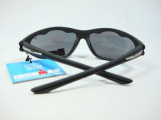 Foster Grant Iron Man Black Sunglasses Sweep SR0510 New