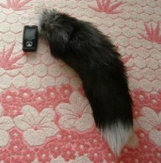 15 Fox Fur Tail Keychain Tassel Bag Charm Handbag Pendant Accessory