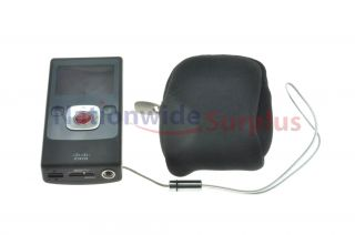 Cisco Flip UltraHD Camcorder 3rd Gen 8GB 2hrs Black U32120B w/ Li ion