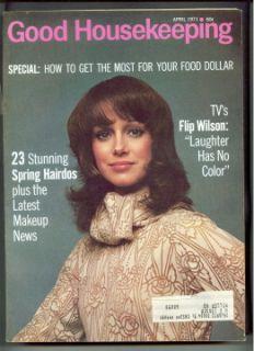 Magazine A 1971 Jimmy Stewart Karen Graham Flip Wilson Hairdos