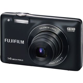 New Fujifilm FinePix JX500 14.0MP Digital Camera Black+4GB Memory Card