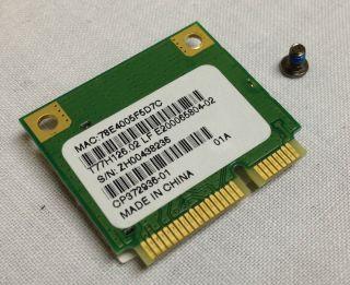 Fujitsu LifeBook AH530 Wireless WiFi Card T77H126 02 CP372936 01
