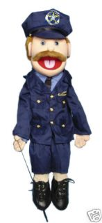 PROFESSIONAL MINISTRY FULL BODY PUPPETS VENTRILOQUIST DUMMY POLICEMAN