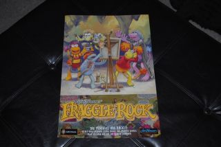 Fraggle Rock Promo Poster Double Sided 18 Jim Henson