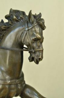 European Classic Bronze French King Statue Ride on Horse Sculpture