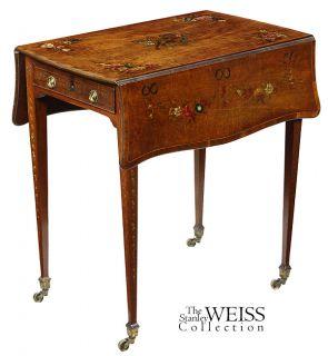 5336 a george iii satinwood pembroke table england c 1800