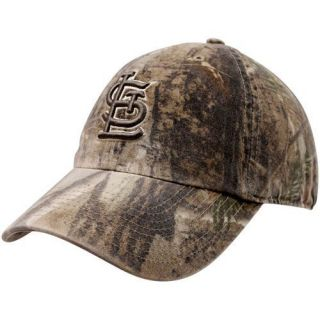47 Brand St Louis Cardinals Real Tree Camo Franchise Fitted Hat