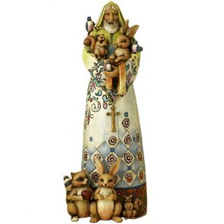 jim shore st francis figurine nib heartwood creek saint francis