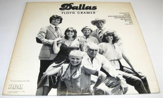 DALLAS FLOYD CRAMER TV SHOW THEMES LP VINYL LARRY HAGMAN 1979