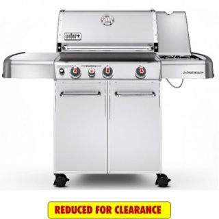 Weber Grills Genesis S 330 Natural Gas Grill   Stainless Steel