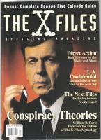 The x Files Official Magazine 7 1998 Vol 1 7 B VFN
