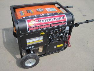 PowerLand Tri Fuel Gas PROPANE LP NG 10000 Watt Portable Generator RV