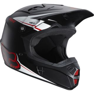FOX Racing 2012 MX Helmet V2 Matte Black LARGE 01209 255 L NEW IN BOX