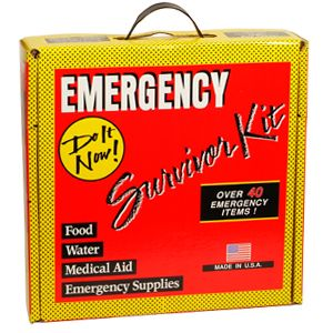 Emergency Survival Kit Over 40 Items w 3DAY Food Water Rations Camping